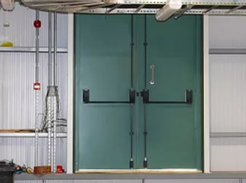 Security rated steel door installations