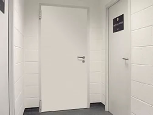 Thermal and fire rated steel door installations