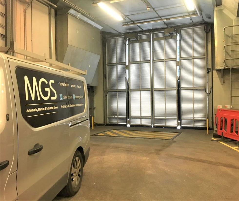 Commercial industrial doors service and repair