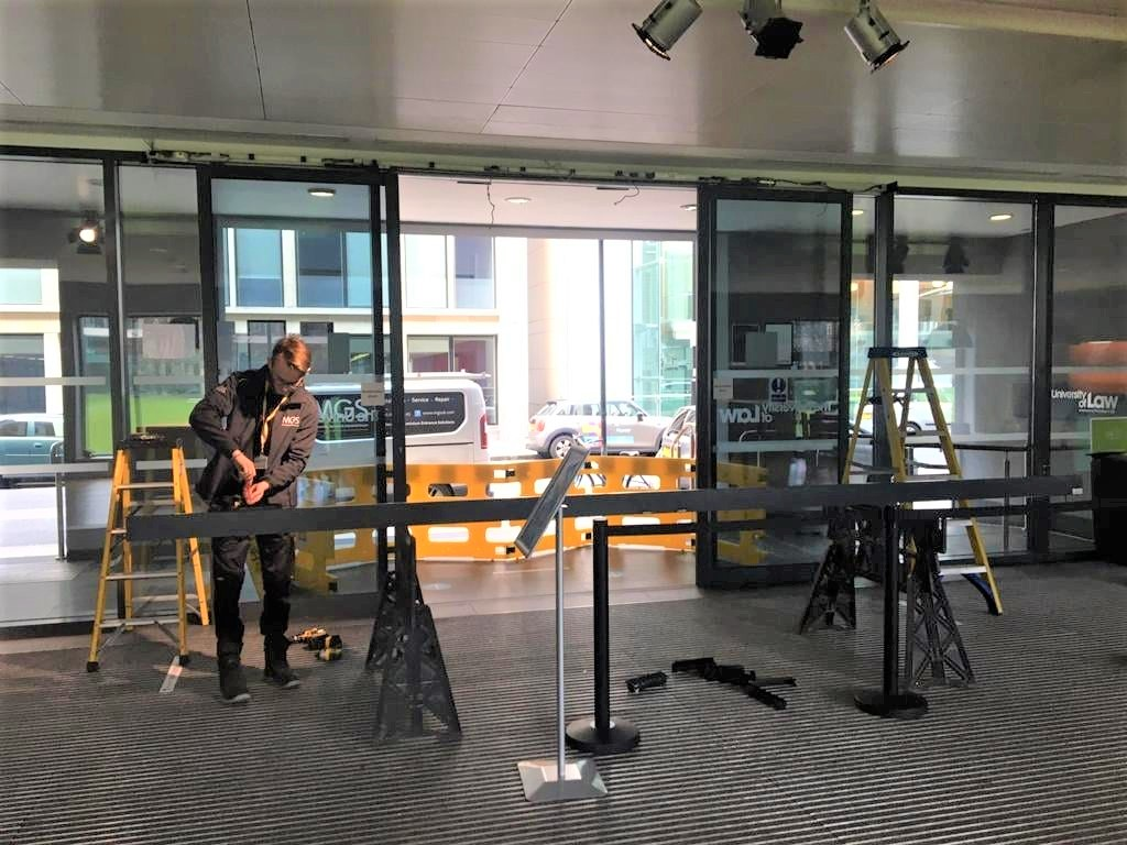 Commercial door service, repair and maintenance