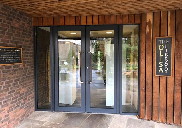 Aluminium commercial door supply