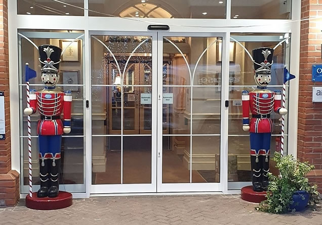Automatic commercial door supply