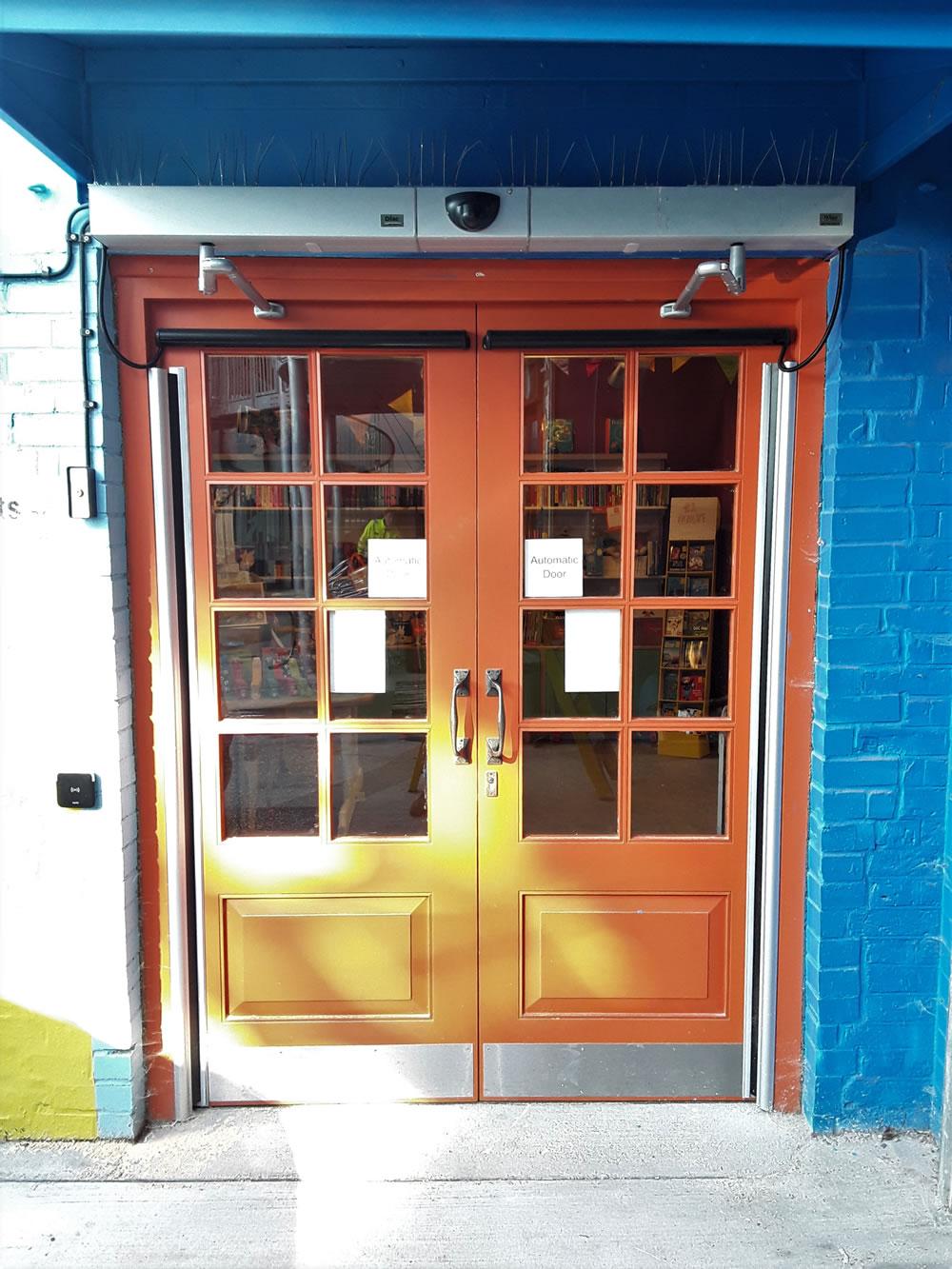 Manual doors conversion to automated doors