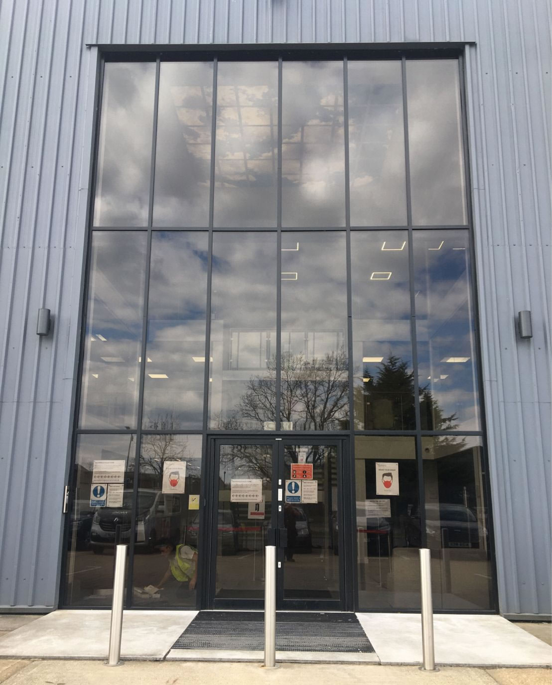 Commercial facade