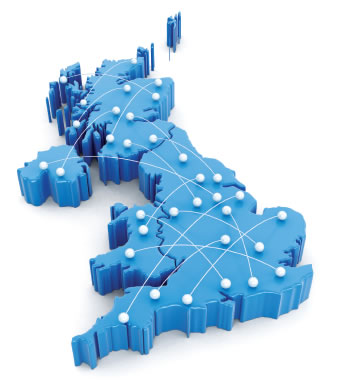 UK commercial door servicing coverage