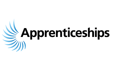 Apprenticeship blue logo